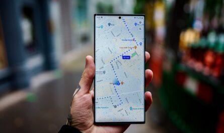 Mezi oblíbené mapy a navigace patří například Google Maps.